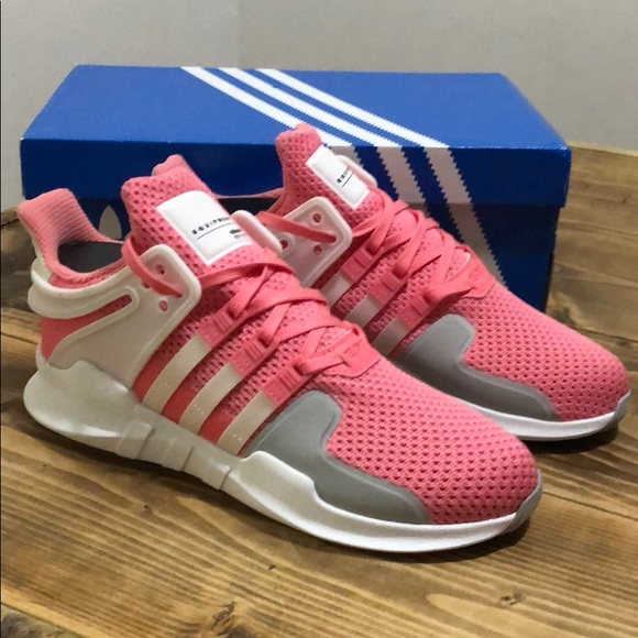 best website a6014 8cd80 Adidas EQT Support Womens Pink White 6.5 7.5 8